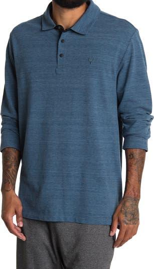 Рубашка-поло с длинным рукавом Space Dye Jeremiah