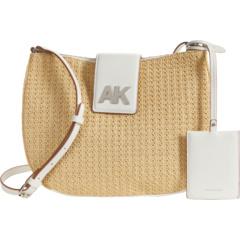 Соломенная сумка через плечо Anne Klein