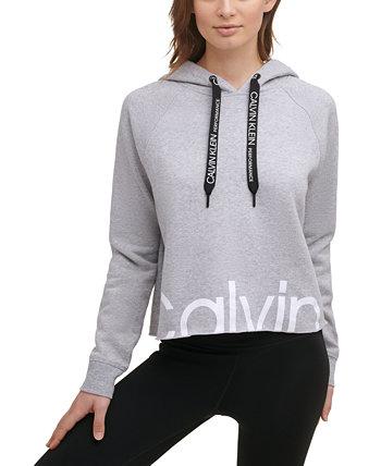 Women's Cropped Logo Hoodie Calvin Klein