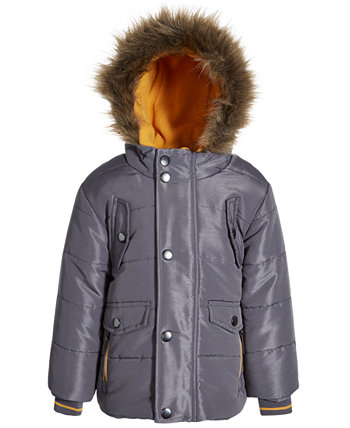 Baby Boys Parka with Contrast Trim S Rothschild & CO
