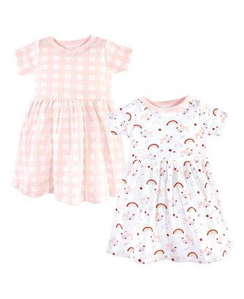 Детское платье для девочек и мальчиков, пакет из 2 штук Luvable Friends