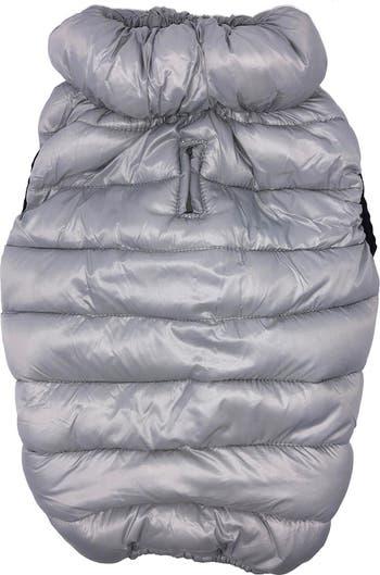 Ультра-плюшевая стеганая утепленная куртка для собак Pursuit - Large Pet Life