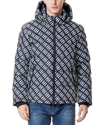Мужская стеганая куртка-пуховик, созданная для Macy's Tommy Hilfiger