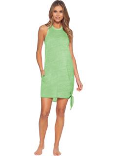 Пляжное платье с высокой горловиной и карманом BECCA by Rebecca Virtue