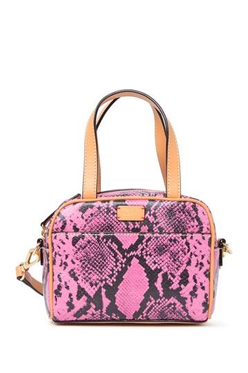 Сумка-портфель с принтом из змеиной кожи для малышей Frances Valentine