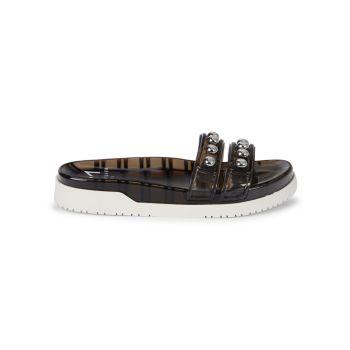 Trent PVC Slide Sandals Marc Fisher LTD