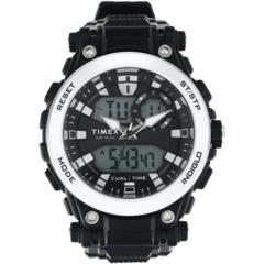 50-миллиметровые аналогово-цифровые часы с полимерным ремешком Timex