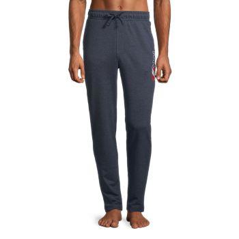Graphic Terry Lounge Pants Michael Kors