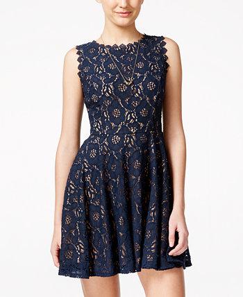 Кружевное платье с пышной юбкой для юниоров City Studios