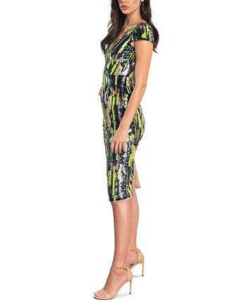 Платье Allison с пайетками Dress the Population