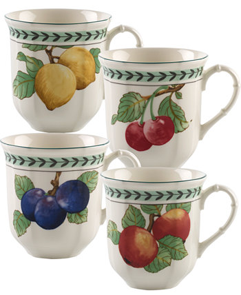 Французский сад Modern Fruit Set / 4 Jumbo-кружки в ассортименте Villeroy & Boch