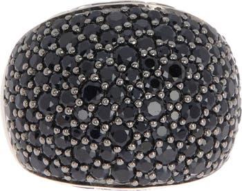 Кольцо с сапфировым куполом из стерлингового серебра с заклепками - размер 7 JOHN HARDY