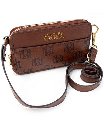 Поясная сумка из веганской кожи Badgley Mischka