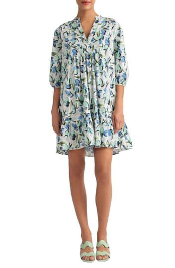 Платье в стиле ампир с v-образным вырезом и планкой Donna Morgan