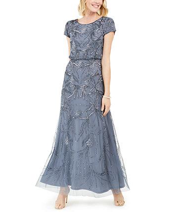 Бисерное платье Adrianna Papell