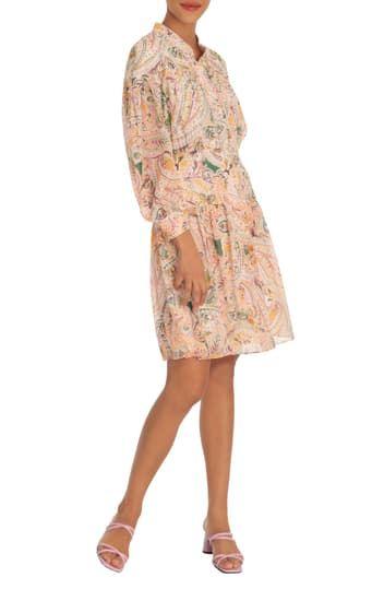 Bodice Skirt Yoke Shirtdress Donna Morgan