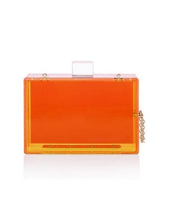 Модный прозрачный акриловый клатч Milanblocks
