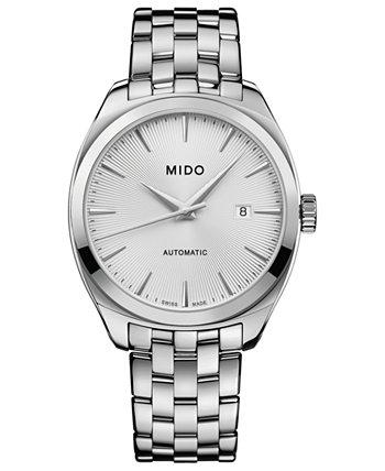 Мужские швейцарские автоматические часы Belluna Royal из нержавеющей стали с браслетом 41 мм MIDO