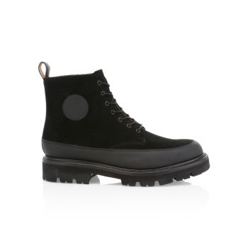 G2 Anton Suede & Leather Boots Grenson