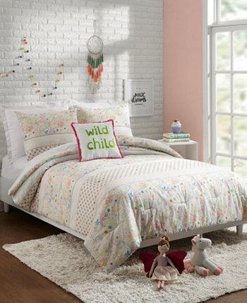 Комплект из 3-х сдвоенных одеял Whimsical Paisley Jessica Simpson
