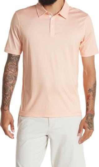 Рубашка-поло с короткими рукавами и тремя пуговицами Raffi