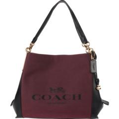 Эксклюзивная сумка через плечо Coach из жаккарда Dalton 31 оптом COACH