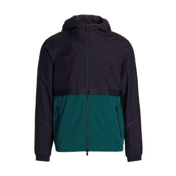 Куртка на молнии с капюшоном EcoTech Z Zegna