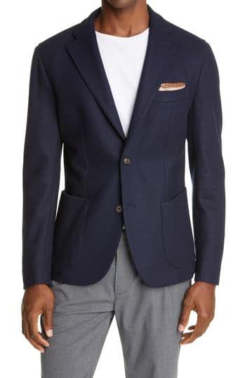 Пиджак из смесовой шерсти Eleventy