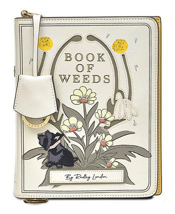 Маленькая кожаная сумка через плечо Book Street с клапаном Radley London