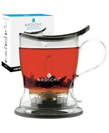 Aberdeen Smart Tea Maker and Tea Steeper, чайник с нижней дозировкой 17,7 жидких унций Grosche