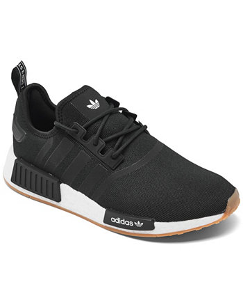 Men's NMD R1 Primeblue Casual Sneakers from Finish Line Adidas