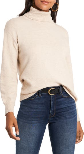 Open Back Turtleneck Sweater 1.STATE