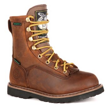 Georgia Boots Lacer Boys' Insulated Waterproof Outdoor Boots Georgia Boots