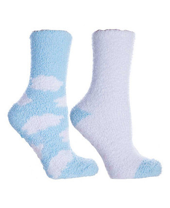 Women's Non-Skid Warm Soft and Fuzzy Slipper Socks, 5 Piece MinxNY