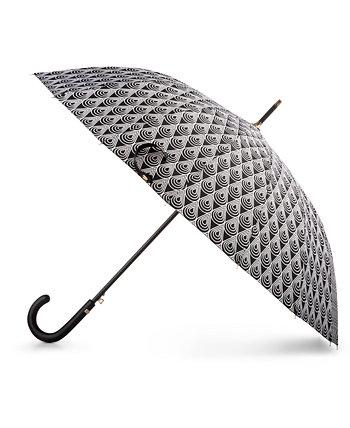 50-летний юбилей Auto Open Stick Umbrella Totes
