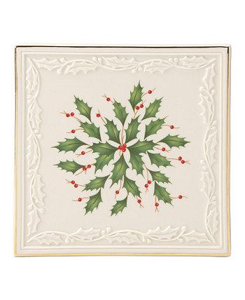 Хостинг The Holidays Trivet Lenox