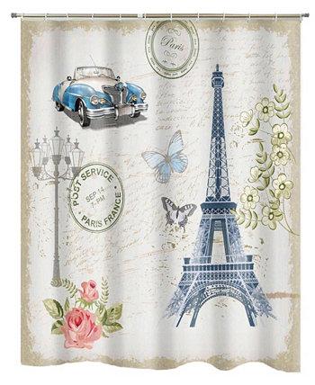 Занавеска для душа Paris Popular Bath