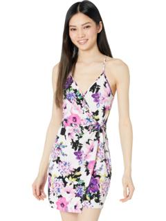 Трикотажное платье с запахом Twist Wrap TGTX1P34 BCBGeneration