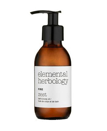 Масло для тела для ванн Elemental Herbology Fire Zest Bath, 5 жидких унций Cinq Mondes