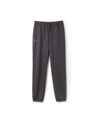 Спортивные штаны из флиса с эластичным вырезом на штанине Lacoste