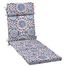 Подушка для шезлонга Arden Selections Diamond Geo Outdoor Chaise Lounge Подушка Arden Selections