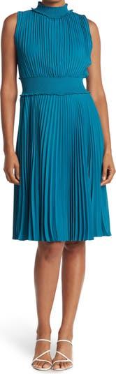 Плиссированное платье без рукавов NANETTE LEPORE Nanette nanette lepore