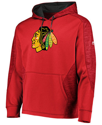 Мужская толстовка с капюшоном от Chicago Blackhawks Majestic