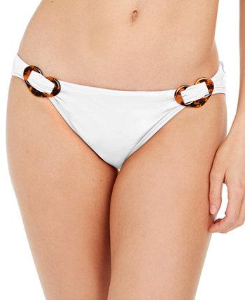 Классические плавки бикини с боковой пряжкой Kate Spade New York