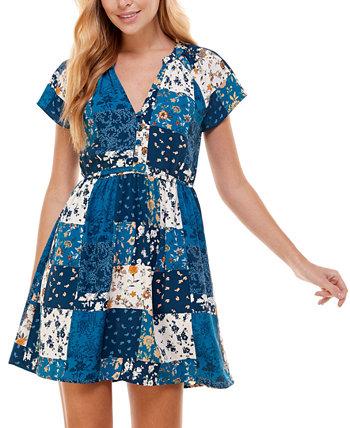 Юниорское платье с принтом и пышной юбкой City Studios