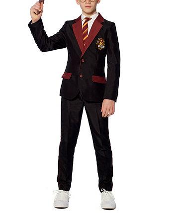 Комплект костюмов для Хэллоуина из трех предметов Гарри Поттера Гриффиндора для больших мальчиков Suitmeister