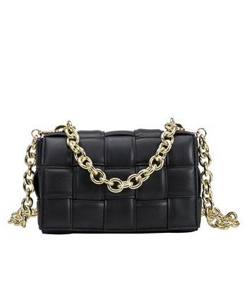 Маленькая женская сумка через плечо Anya Melie Bianco