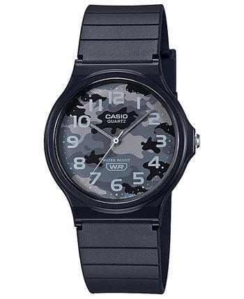 Мужские наручные часы с черным полимерным ремешком, 35 мм Casio