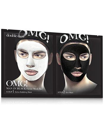 МОЙ БОГ! Человек в черной маске для лица Double Dare
