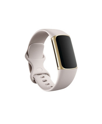 Charge 5, Soft Gold/Lunar White, Stainless Steel Fitbit